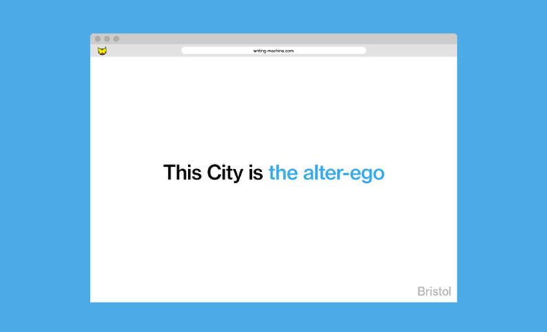 image of website describing the city